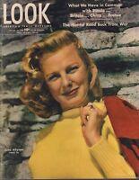 Look January 22 1946 June Allyson Joe Lapchick 010219DBE