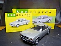 WOW EXTREMELY RARE 1/43 VANGUARDS FORD CORTINA MK4 2.0S STRATO SILVER NLA