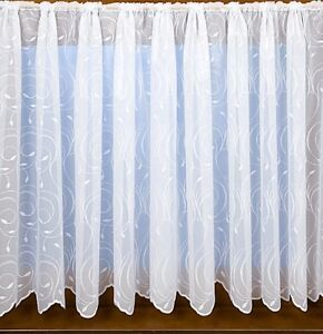 Barbara  net curtains ,11 different sizes . Stunning design, lovely quality,1532