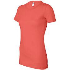 Ladies Women Bella Canvas 100% Cotton The Favourite Long Body T Shirt