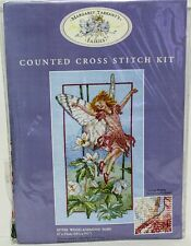 Anchor Margaret Tarrant's Cross Stitch Kit #MTF06 Wood Anemone Fairy Sealed NIP
