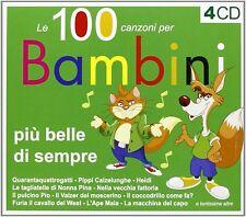 Le 100 Canzoni Per Bambini Piu Belle Di Sempre Vol. 1 (4 CD - Compilation )