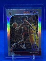 2019-20 NBA Hoops Premium Stock COBY WHITE SILVER PRIZM HOLO Rookie RC #204