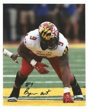 Byron Cowart Signed/Autographed Maryland Terrapins Terps 8x10 Photo w/Coa