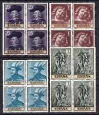 1962 ESPAÑA ** - SERIES Y BLOQUES 4 - MNH - Edifil 1406-1480