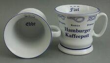 Hamburger Kaffeepott m. Seemannsknoten hoch Kaffeebecher Kaffeetasse Kaffee Pott