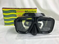 Dive Master Heavy Duty Scuba Snorkeling Mask Goggles with Tempered Glass Lenses