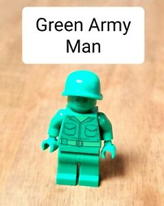 USED LEGO TOY STORY GREEN ARMY MAN MINIFIGURE EXCELLENT CONDITION
