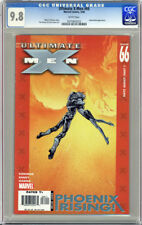 ULTIMATE X-MEN #66 FIRST PRINTING WHITE PAGES CGC 9.8 NM/MT UNSCRATCHED