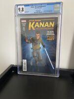 Kanan - The Last Padawan CGC 9.8 (Marvel 6/15) Rebels Variant 1st Ezra, Sabine