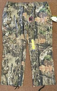 NWT Men's Mossy Oak Size XXL Flex Fabric Cargo Pants  6 Pocket