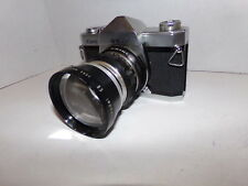 Kowa SE-T 35mm Vintage Camera with Sun Telenet Model EE Lens SHIPS FREE!