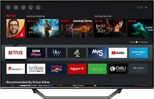 HISENSE 50AE7400FTUK Dolby Vision 50-inch 4K UHD HDR Smart TV with Freeview play