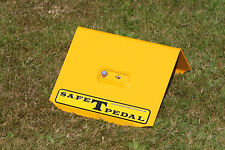 VW BEETLE ALL OLD MODELS SAFE T PEDAL VW SECURITY IN YELLOW RIGHT HAND DRIVE