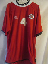Norway 2000-2002 Home Football Shirt Size large /22423