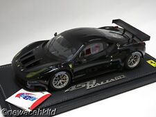 FERRARI 458 GT2 2011 BLACK LIMITED 60PCS BBR MODELS 1/18 #P1827BLK