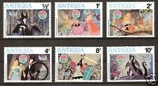 ANTIGUA # 592-7 MNH DISNEY Christmas Sleeping Beauty