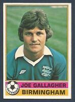 -#173- BIRMINGHAM TOPPS-FOOTBALL RED BACK 1977 GARRY PENDREY
