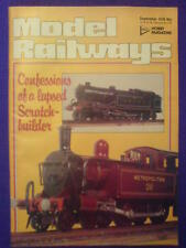 MODEL RAILWAYS - SCRATCH BUILDER - September 1978