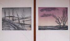 Bilder Drucke Abendrot und Morgengrau von A. W. Meinert