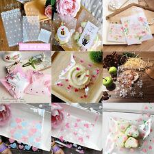 Mini 7x7cm Cello Cellophane Wedding Party Favour Sweet Macarons Gift Craft Bags
