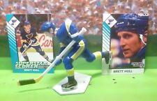 1993 Brett Hull - Starting Lineup - Slu - Figure & Cards - St. Louis Blues
