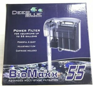 Deep Blue BioMaxx Power Filter For Aquariums up to 55 Gallon (NEW) BW-1165