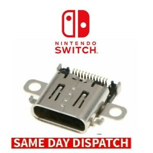 Nintendo Switch Replacement USB Charging Port Socket Connector Repair Part