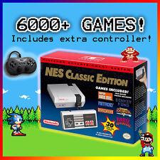 NES Classic Edition 6000+ Games Nintendo Entertainment System Mini Console