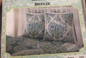 2 Dena Home Breeze Euro Pillow Shams