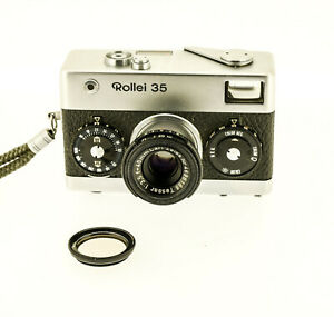 Rollei 35 chrome avec Carl Zeiss Tessar 3.5  / 40 mm num 3072551 made in Germany