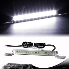 7000K White 12 LED Bolt-On Hard Wired Car Truck License Plate Light Universal 2