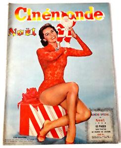 Revue CINEMONDE Spécial Noël 1956 - 60 pages