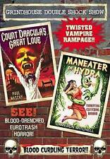 Grindhouse Double Shock Show: Count Draculas Great Love/Maneater of Hydra...
