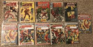 Daredevil 20-141 lot of 18 silver age marvel comics Stan Lee More Listed