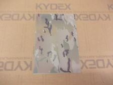 2 mm KYDEX T Sheet 297 X 210 nominal,Large GFG Multicam  camouflage on Julep P3