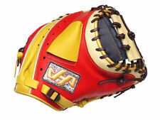 HATAKEYAMA Pro 33 inch Baseball Catcher Mitt - Red/Navy