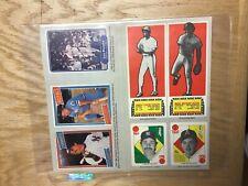 1986 Reprint of 1982 Fleer Baseball Cards Uncut Sheet