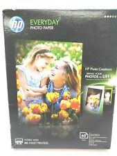 HP Glossy 5x7 Everyday Inkjet Photo Paper 60 Sheets