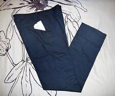Polo Ralph Lauren Men's Navy Blue Preston Virgin Wool Dress Pants - Size 34