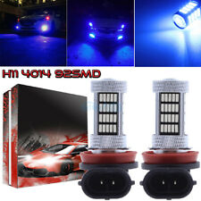 2Pcs H11 H8 H9 H16 4014 92Smd Led Fog Light Conversion Kit Upgrade 10000K Blue