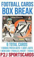 2020 PANINI ZENITH Football 🏈 CARD HOBBY BOX BREAK 🏈 1 RANDOM TEAM Break 3884