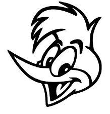 Woody Woodpecker Vinyle Voiture Décalque/Autocollant