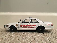 Meigs County Tennessee custom sheriff's diecast car Motormax 1:24 scale