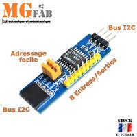 Module I2C 8 Bit IO GPIO expander en ligne PCF8574 | extension Arduino IIC RPI