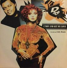 """D MOB-C'MON AND GET MY LOVE 7"""" (FEAT. CATHY DENNIS) 1980s CLUB DANCE HOUSE EX/EX"""
