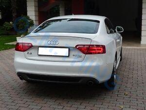 Audi A5 S5 RS5 2 Door Rear Boot Trunk Spoiler Lip Wing Sport Trim Lid S Line