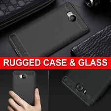 For Huawei Y6 2017 New 360 Shockproof Case Cover & Tempered Glass Protector