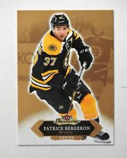 2016-17 Fleer Showcase #17 Patrice Bergeron - NM-MT