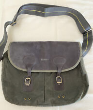 BARBOUR Icons waxed cotton Tarras messenger bag